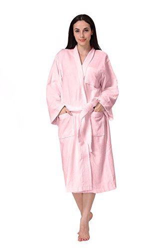 Spa Style Terry Bath Robe - 5