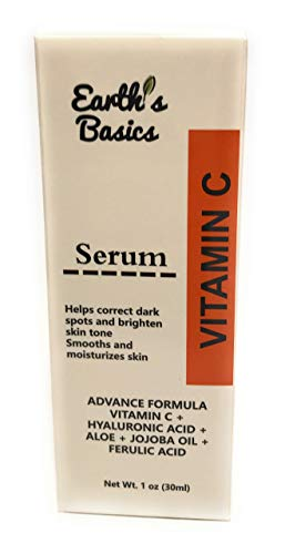 Earth's Serum Face Spot Hyaluronic Acid Botanicals, oz.