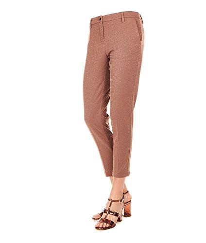 Sand White Femme Pantalon Viscose 19sd013717 Marron vxpPqd
