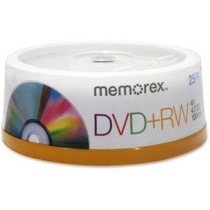 Imation - Memorex 25 X Dvd+Rw