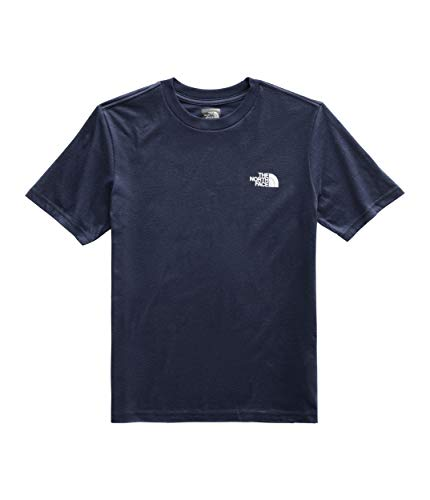 The North Face Kids Boy's Short Sleeve Graphic Tee (Little Kids/Big Kids) Cosmic Blue Large