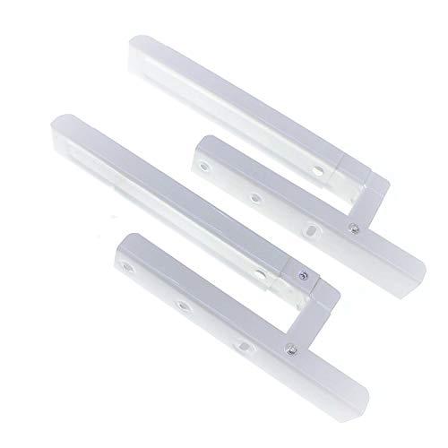 🥇 Soportes de estante para microondas blanco