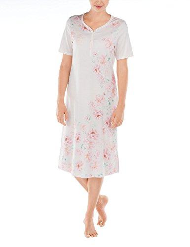 Calida Algarve Nightshirt, Camisones para Mujer PINK (PEARL Rose 080)