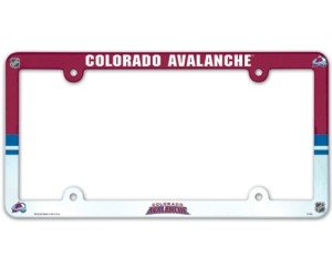 WinCraft NHL Colorado Avalanche Full Color License Plate Frame, Team Color, One Size