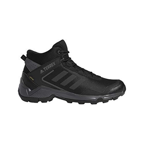 Adidas Gore Tex - adidas outdoor Men's Terrex EASTRAIL MID GTX Hiking Boot, Carbon/Black/Grey Five, 11.5 D US