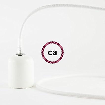 Tibelec 073610 Câble électrique Textile Blanc Meilleur Cadeau De Noël