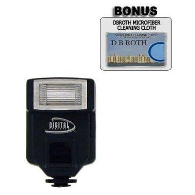 318AF Digital Slave Flash For Use For The Nikon D5000, D3000 Digital SLR Cameras DB ROTH flslave-26