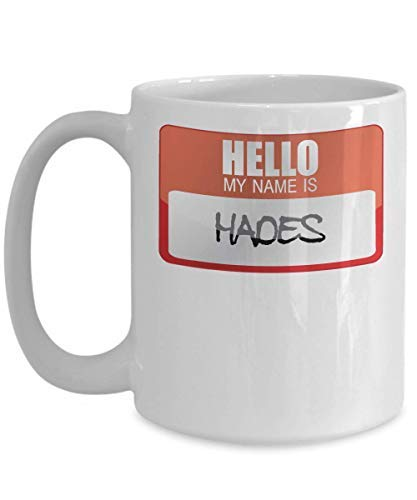 My Name Is Hades Greek Mythology Halloween Costume Greek God Ancient History Goddesses Greece Trick Or Treat Gift Mug Coffee Mug Cup 11OZ]()