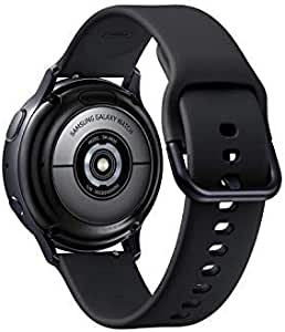 Samsung SM-R830N 40mm Galaxy Watch Active 2 (40mm) -Aluminium - Aqua Black (Pack of1)