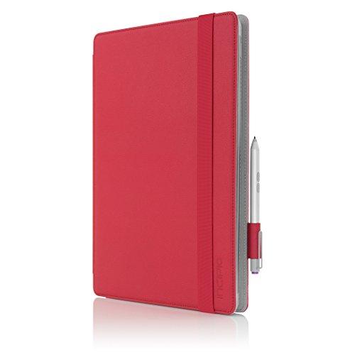Microsoft Surface Pro 3/4 Case, Incipio [Folio] [Type Cover] Roosevelt Folio Case for Microsoft Surface Pro 3/4-Red from Incipio