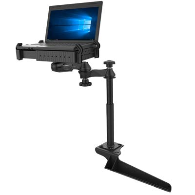 No-Drill Laptop Mount for The Ford F-250, F-350, F-450, F-550, F-650, F-750 & Excursion RAM-VB-185-SW1