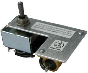 KB Electronics 9339 - KBPC-PW Forward-Brake-Reverse Mechanical Switch model 240D only