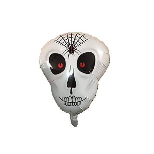 Lannmart Dancing Skeletons Foil Balloons Skull Helium Balloon Globos Inflatable Toys Halloween Decorations Bar Decor Event Party Supplies