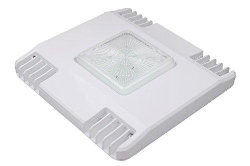 LED Waterproof Canopy Gas Station Light Fixture 150W; 16,184 Lumens; Internal Driver; Outdoor High Bay Carport Ceiling Light; 5000K; DLC Listed; 5 Year Warranty ()
