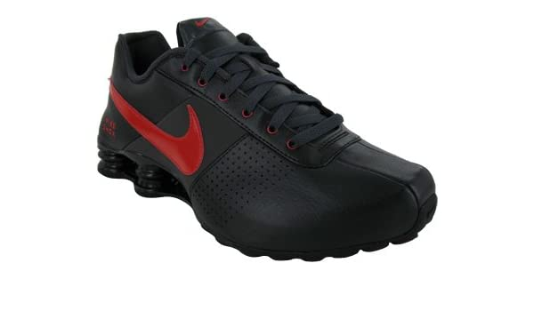 quality design 72fcf 201bb Amazon.com   Nike Shox Deliver Mens Running Shoes Black Sport Red-Anthracite  317547-062-9.5   Shoes