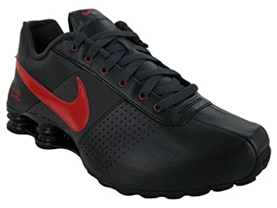 f05d92d391f Nike Shox Deliver Mens Running Shoes Black Sport Red-Anthracite 317547-062-