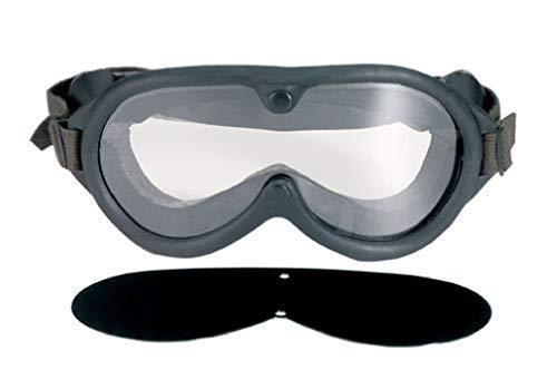- Black Military Style Sun-Wind-Dust Ballistic Goggles
