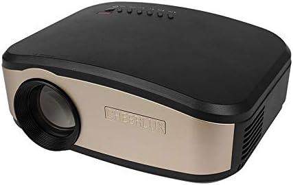 SEXTT Proyector casero, Mini proyector, proyector Video de 1080P ...