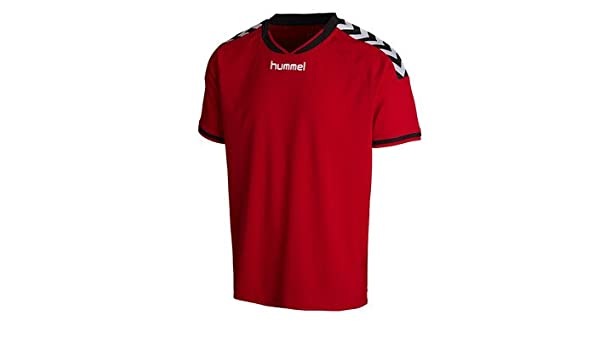 49d7ad70105 Amazon.com  Hummel Stay Authentic SS Jersey  Sports   Outdoors