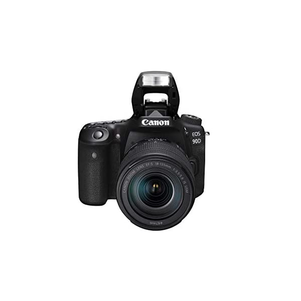 RetinaPix Canon EOS 90D Digital SLR Camera with 18-135 is USM Lens with 16GB Card + SanDisk 128GB Extreme Pro SDXC UHS-I Card - C10, U3, V30, 4K UHD, SD Card