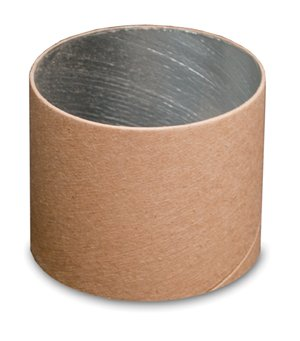 FOIL-LINED CARDBOARD CASTING RING 3.5'' OD X 3'' TALL - PACKAGE OF 200