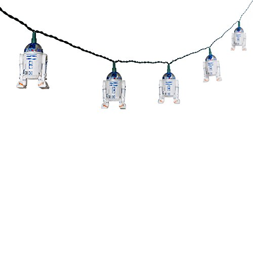 Star Wars Kurt S. Adler 10-Light R2D2 Light Set ()