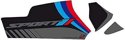 LC 14-18 R1250GS-Adv R1200GS ADV Uniracing K47946 Kit de decoraci/ón y protecci/ón basculante para BMW 13 19-20 Negro Sport