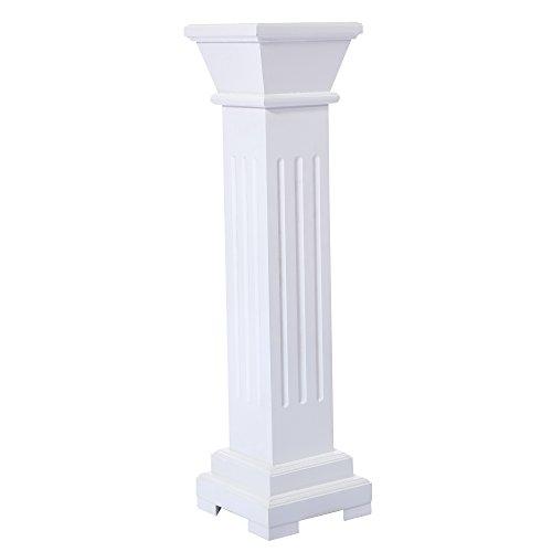 White Pillar Plate (Cloud Mountain Roman Venetian Decoration Wedding Ceremonies Stage Props Column Holds Flower Plates Pillars 26