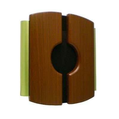 IQ America Wired Door Chime with Wood Cover and Side Tubes