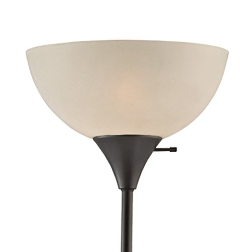 Shade Torchiere Floor Lamp - Lightaccents Replacement Shade for 6280-21 (Torchiere Acrylic Shade only)