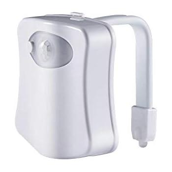 Admoz Multi Color Motion Sensor Led Toilet Night Light