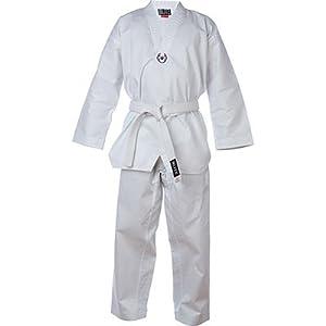 Polycoton kimono pour enfant taekwondo avec flash