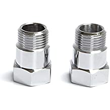 Universal Oxygen O2 Sensor Spacer Adapter Extender extension spacer HHO O2 Bung Test Pipe With M18x1.5 Mild Steel 2 pcs A7831F