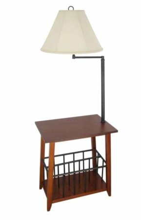 208 Fryar Design LTD Berkley Magazine Rack Lamp