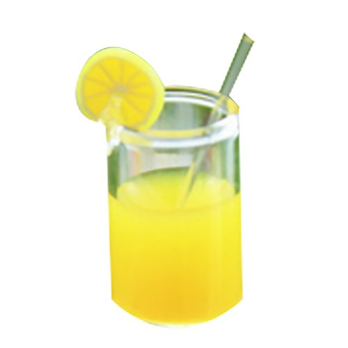 Mini Water Cup Yellow Lemon Cup Doll Accessories for Dolls Barbie Toy House Doll Accessories