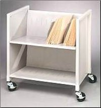 1098755 Cart Medical File Low Profile 26x16x27 Ea Buddy Products -5421-32