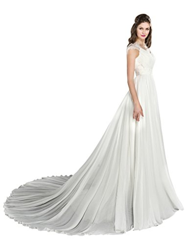 Bridal Line Ivory Beach A Dress COLOREDRESS Wedding Gown XfvxP