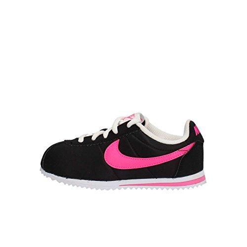 noir noir Running Rose Fille Entrainement Cortez Chaussures Nike Nike Nike De blanc Noir ps Nylon Explosion vqwXSHqxz