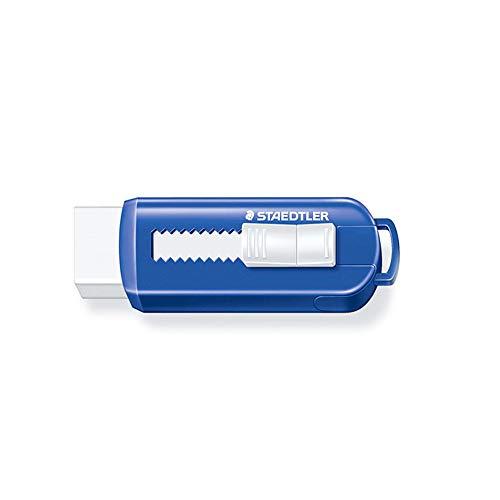 Staedtler Eraser with Sliding Plastic Holder
