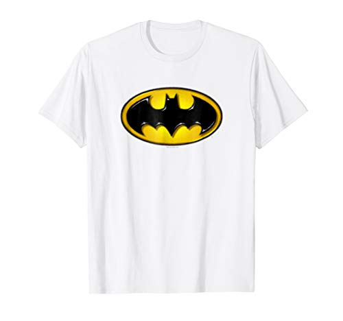 Batman Airbrush Bat Symbol T Shirt
