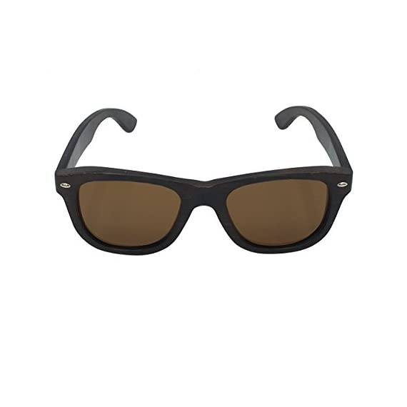 63d92edcd5cb Skateboard Sunglasses Wood Glasses Polarized Fishing Sun Shades for Men  UV400 Protection with Bamboo Case 52mm