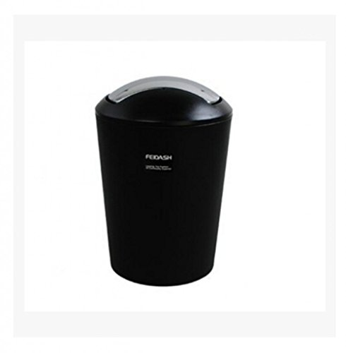 Round Plastic Trash Pack Collectors Trash Can