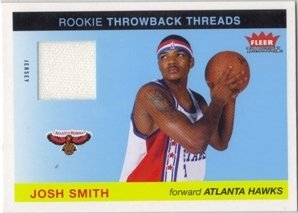 2004-05 Fleer Tradition Rookie Throwback Threads Jersey #14 Josh Smith ()