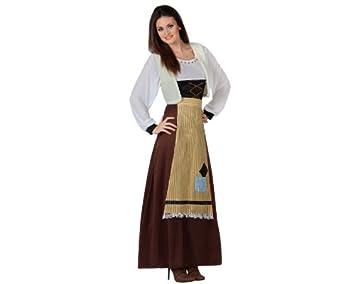 Atosa - Disfraz de campesina para mujer, talla 44-46 ...