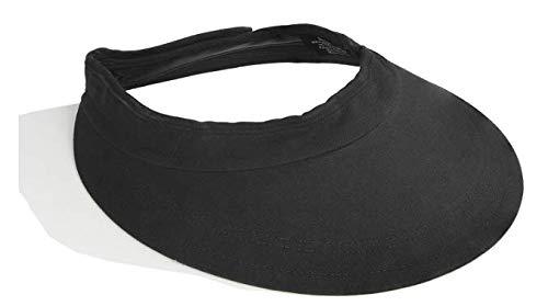 (Intrepid International Equivisor Cotton Helmet Visor, Black, Pack of)