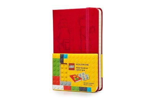 Moleskine Limited Edition Lego Notebook, Hard Cover, Pocket (3.5