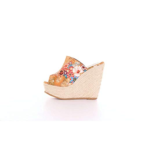 Lme7599492001 Alviero Tissu Beige Chaussures Femme Classe Martini 1a Compensées Owg1Wwq6I
