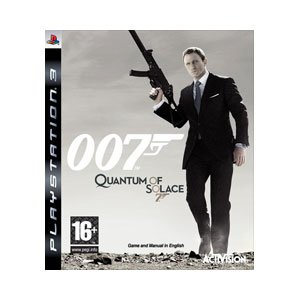 Bond 007 Quantum of Solace PS3