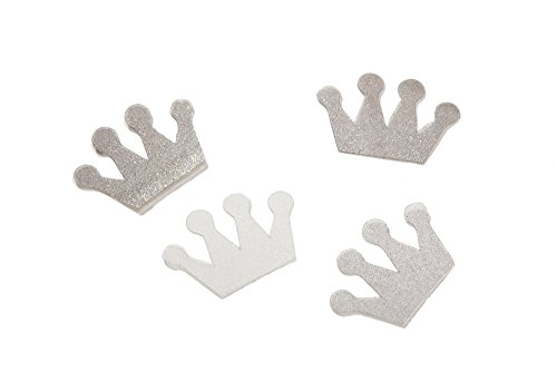 Edible By Design Crown Sprinkles, Silver, 2g