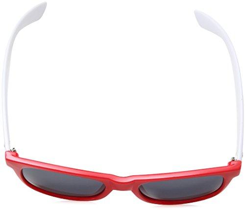 teintes Lunettes blanc White Soleil Rouge Shades de lunettes Groove verres Wwq0xTfrwz